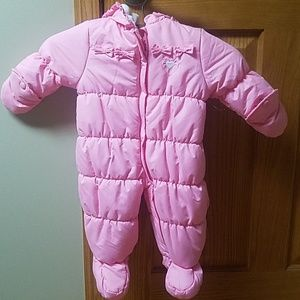 Kids Snowsuit Size 3-6 Months Faded Glory